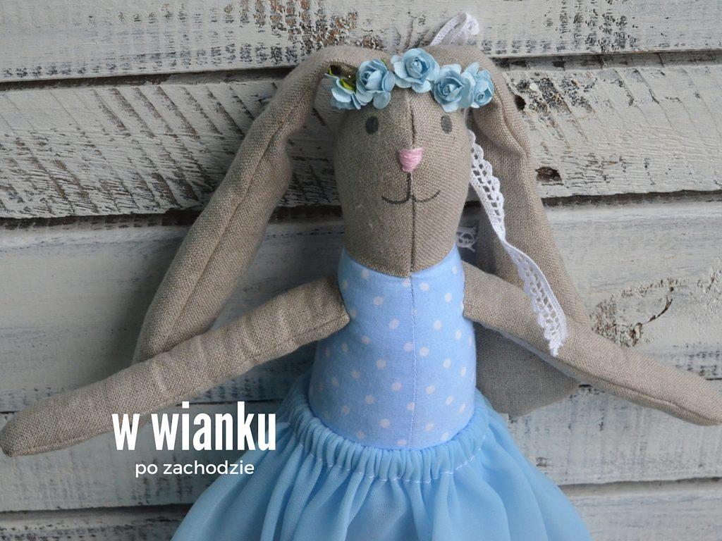 przytulanka maskotka lalka szmacianka baletnica (5)