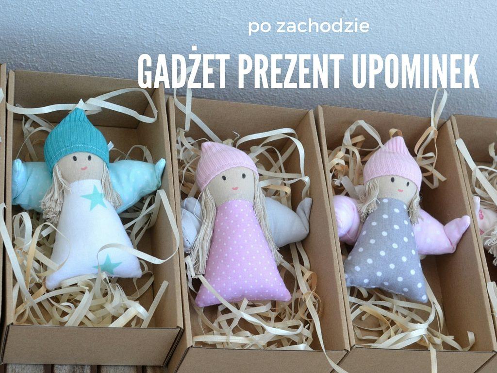 pomysł na prezent szyty anioł lalki ręcznie robione, gadżet firmowy, podziękowanie dla klientów