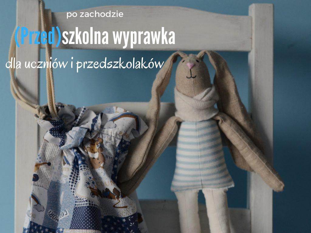 wyprawka szkolna do szkoły do przedszkola worek literki maskotka przytulanka wrocław (1)