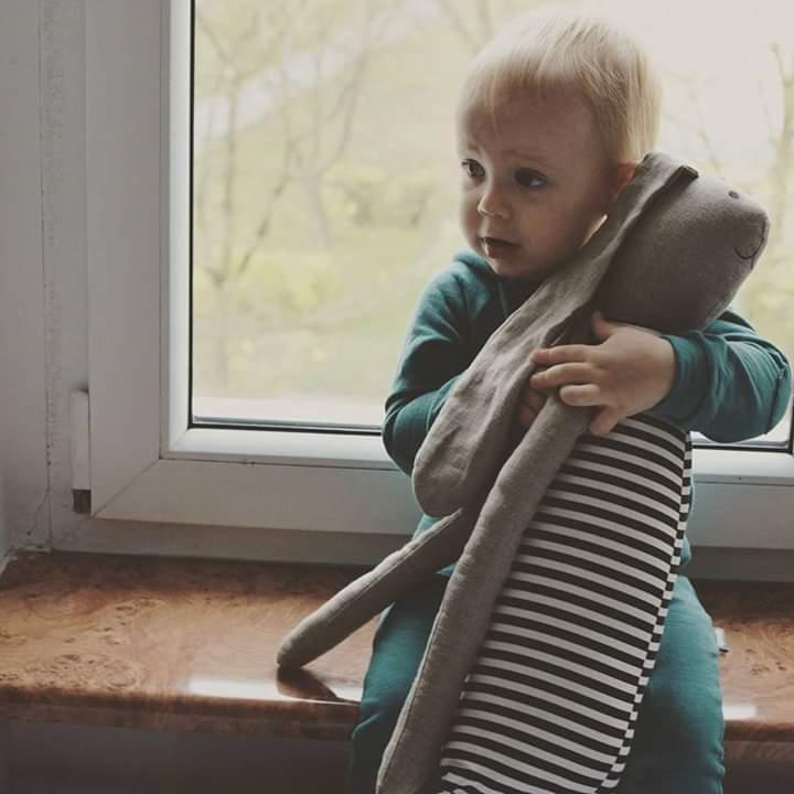 królik przytulanka dla dziecka