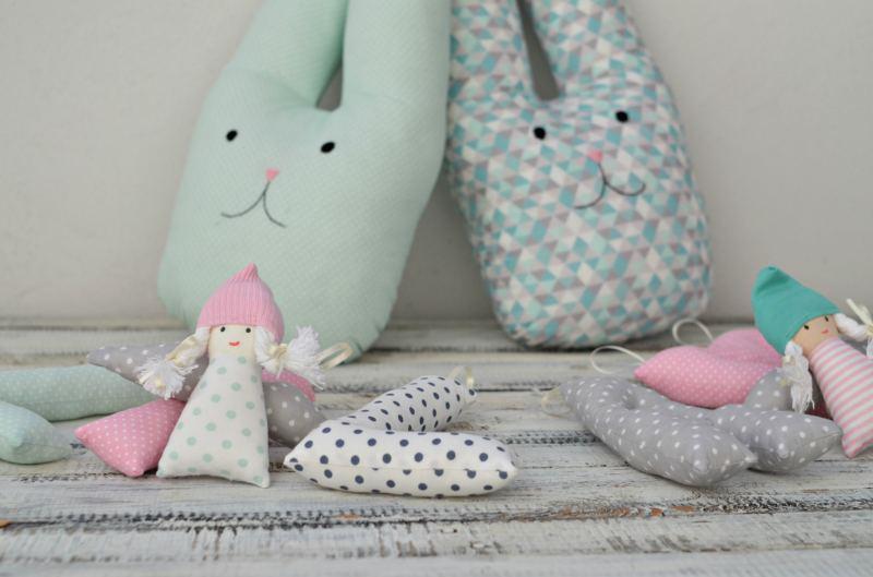 poduszka ozdobna królik